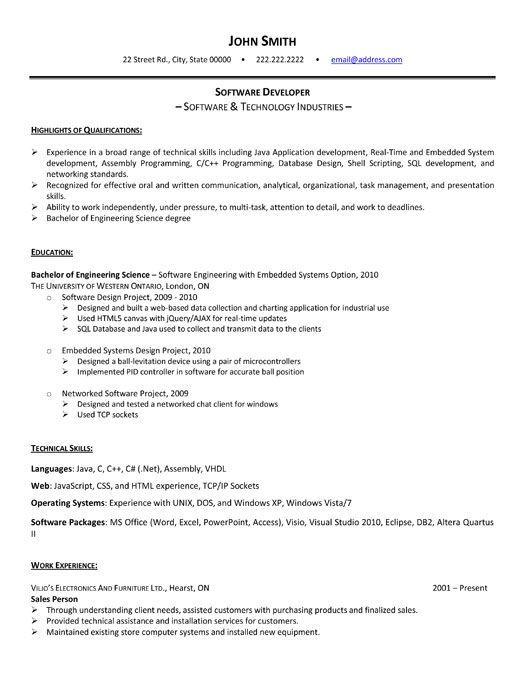 Resume Builder Software Free Download Windows 7