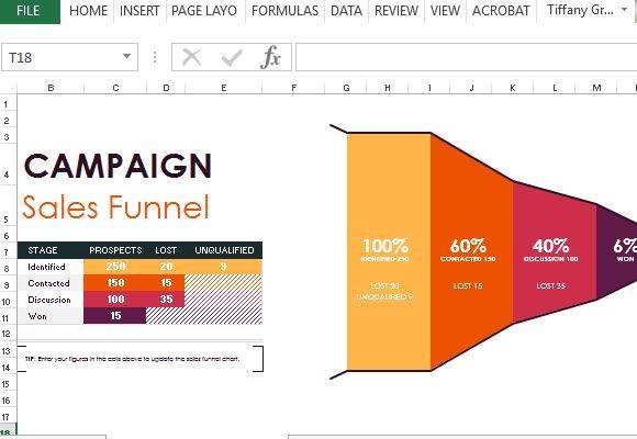 Sales Pipeline Template Excel