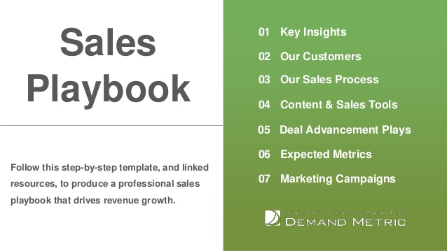 Sales Playbook Template