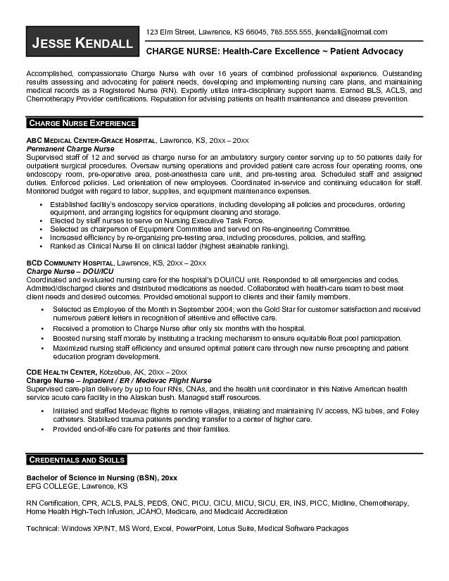 Sample Lpn Nursing Resume