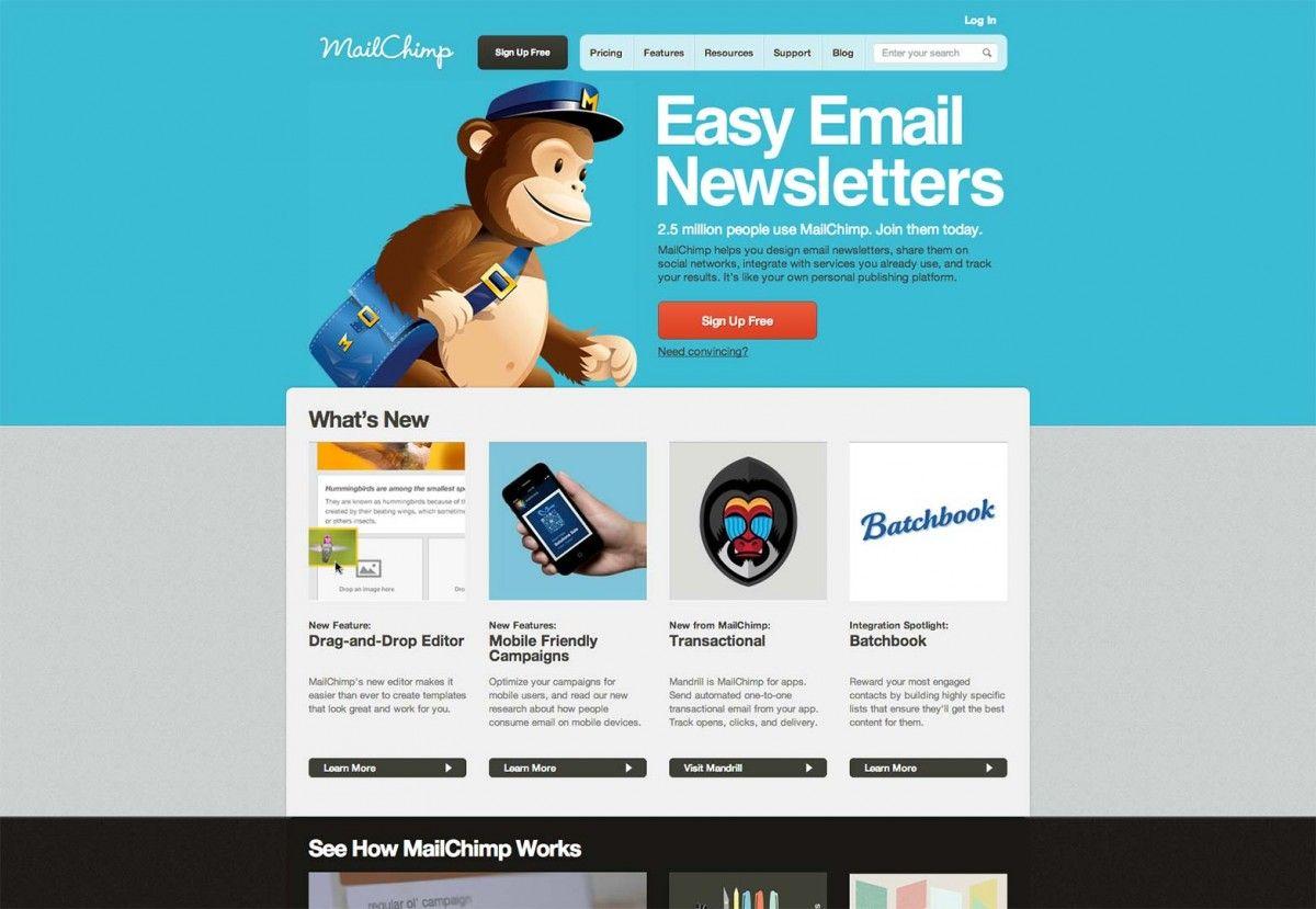 Sample Mailchimp Newsletter Templates