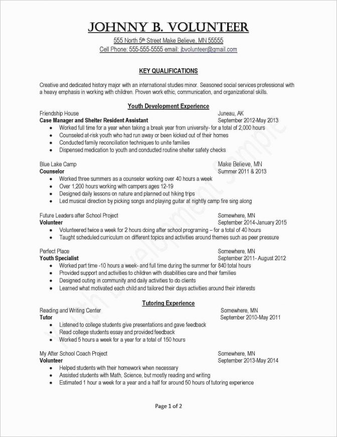 Sample Resume For Bankers Job