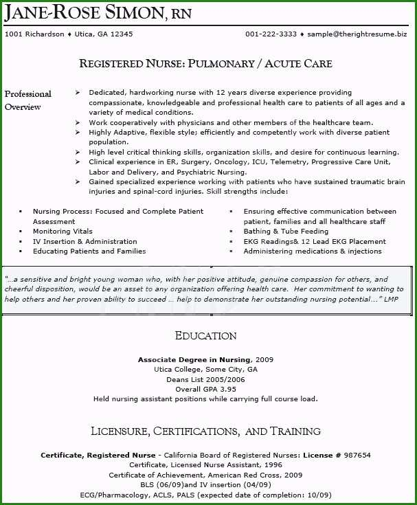 Sample Resume Of Icu Staff Nurse Unique Icu Nurse Resume Sample Nurse Resume Sample Nurse Resume