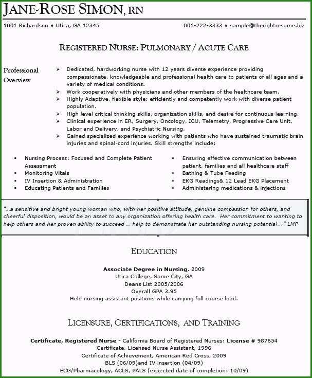 Sample Resume Of Icu Staff Nurse Unique Icu Nurse Resume Sample Nurse Resume Sample Nurse Resume