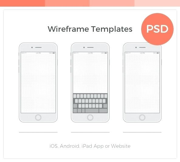 Sample Website Wireframe Template