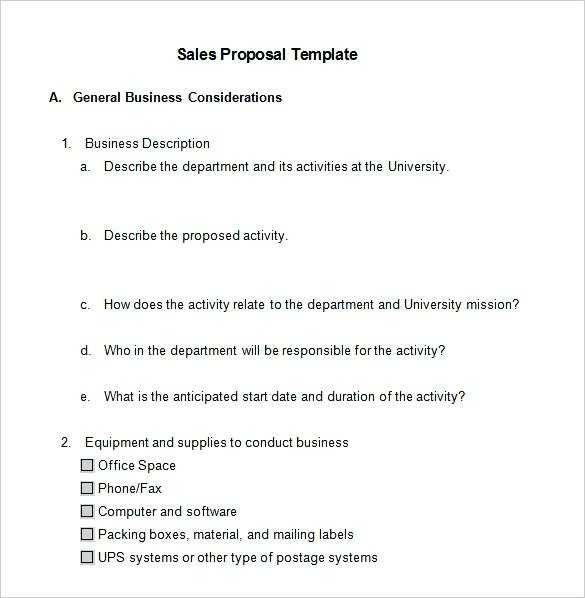 Sales Proposal Generator Fresh It Project Proposal Template Free Download Short Film Song