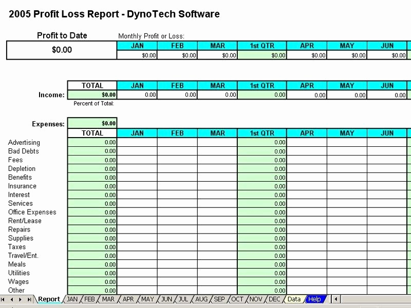 Free Excel Spreadsheets For Small Business And Monthly Expense Report Template
