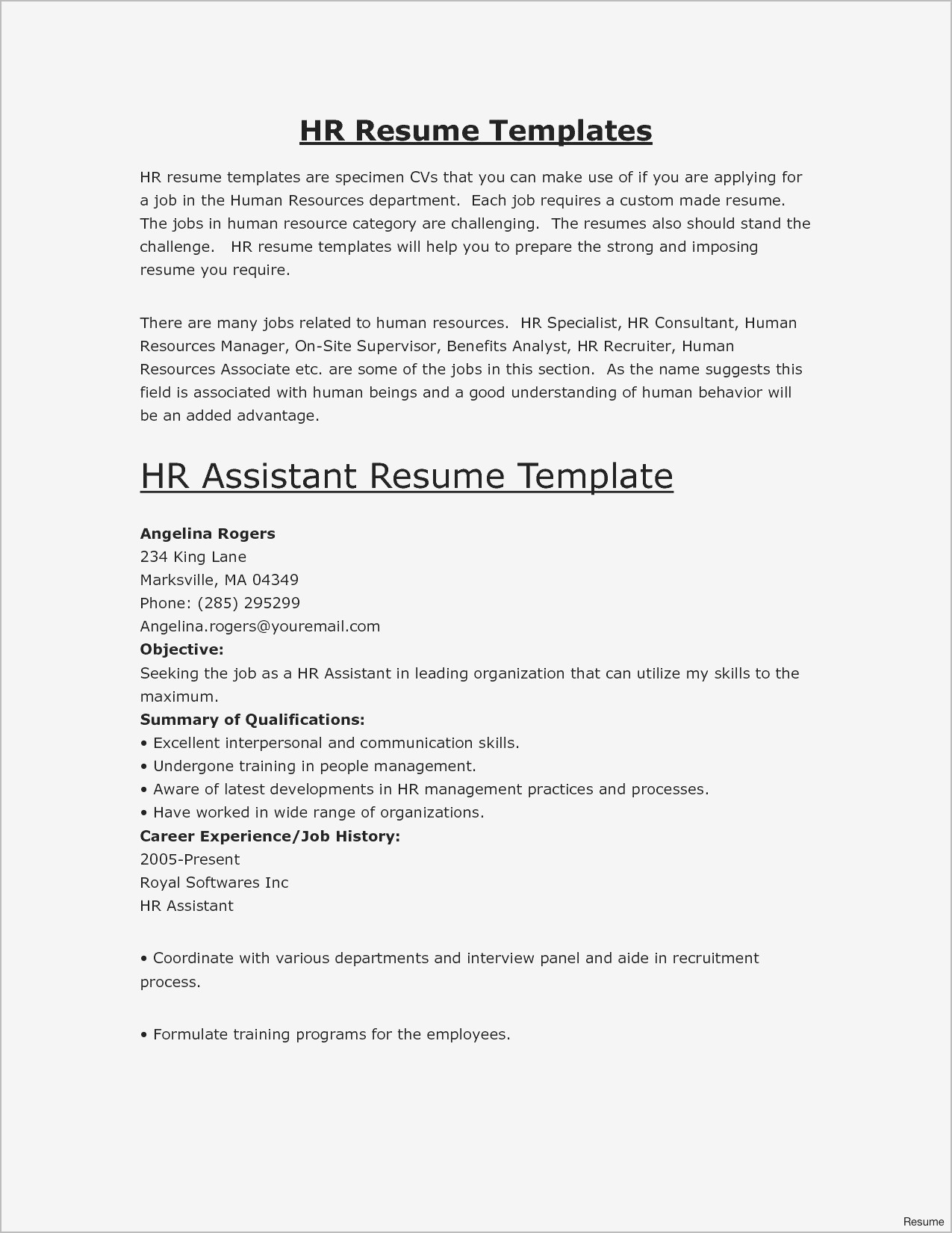 Free Templates For Resumes 2019 Great Resume Samples Good New Free Resume Examples Best Resum Sample Fresh