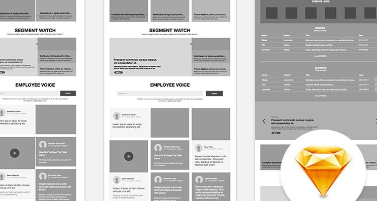 Website Layout Website Wireframe Template