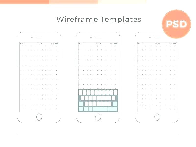 Website Wireframe Template Word