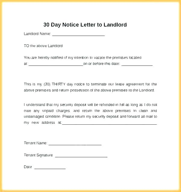 3 Day Eviction Notice California Template