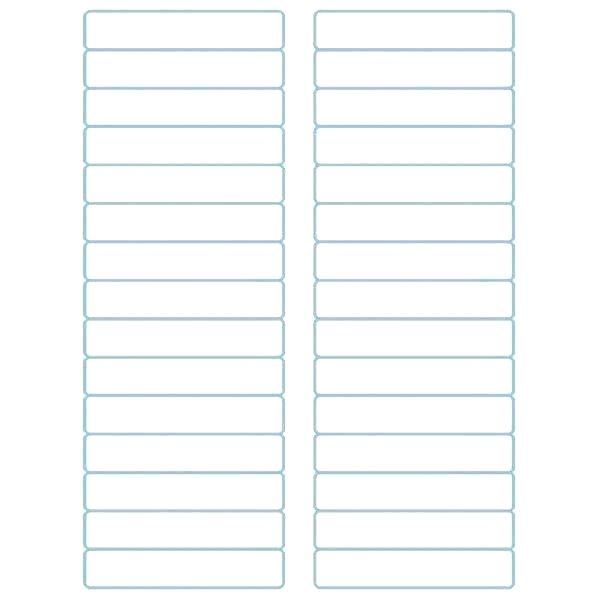 Avery File Folder Labels Template
