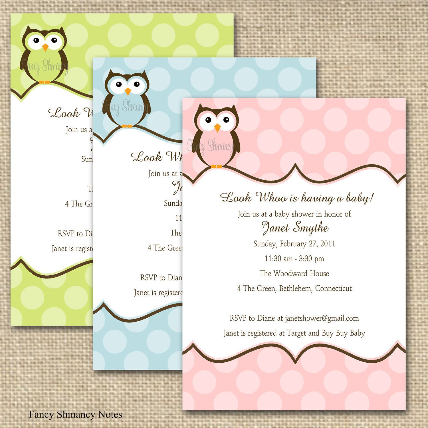 Baby Shower Invitations Templates For A Boy