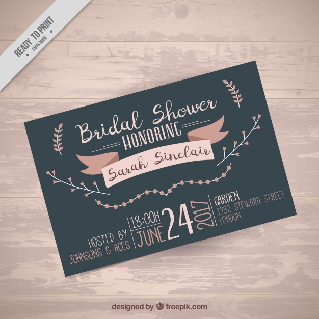 Bachelorette Invitation Template Free
