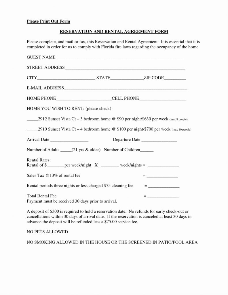 Beat Lease Contract Template Pdf