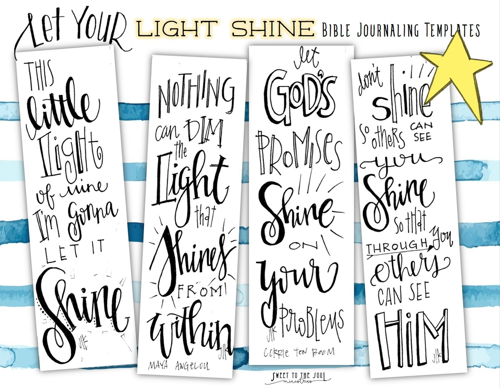 Bible Journaling Templates Free