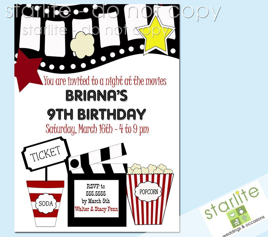 Birthday Party Invitations Templates Free