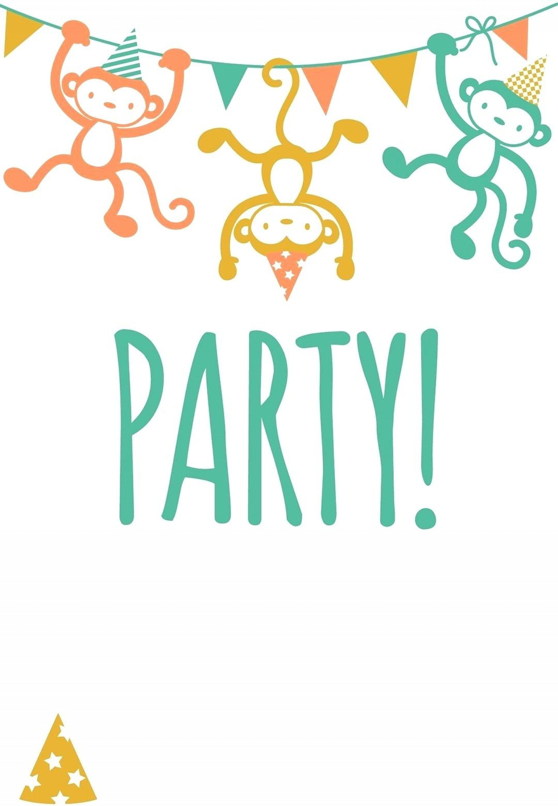 Birthday Party Invites Templates