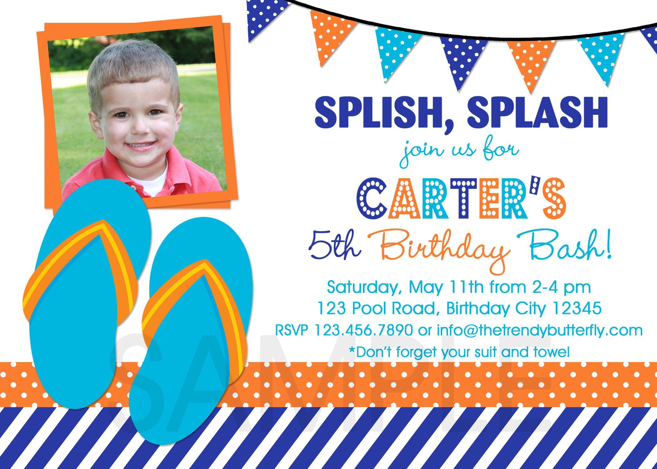 Boy Birthday Invitations Templates Free