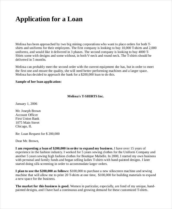 Business Loan Proposal Template