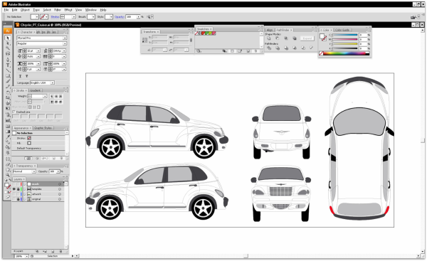 Car Wrap Design Templates