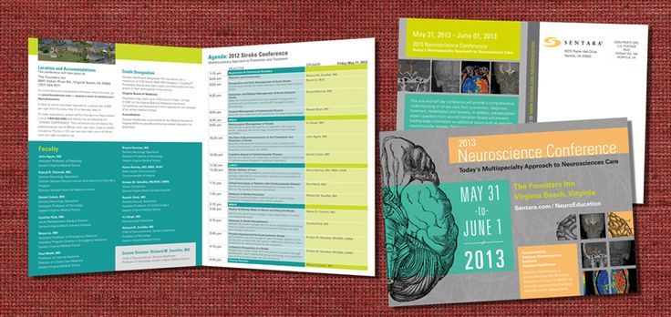 Conference Program Booklet Template
