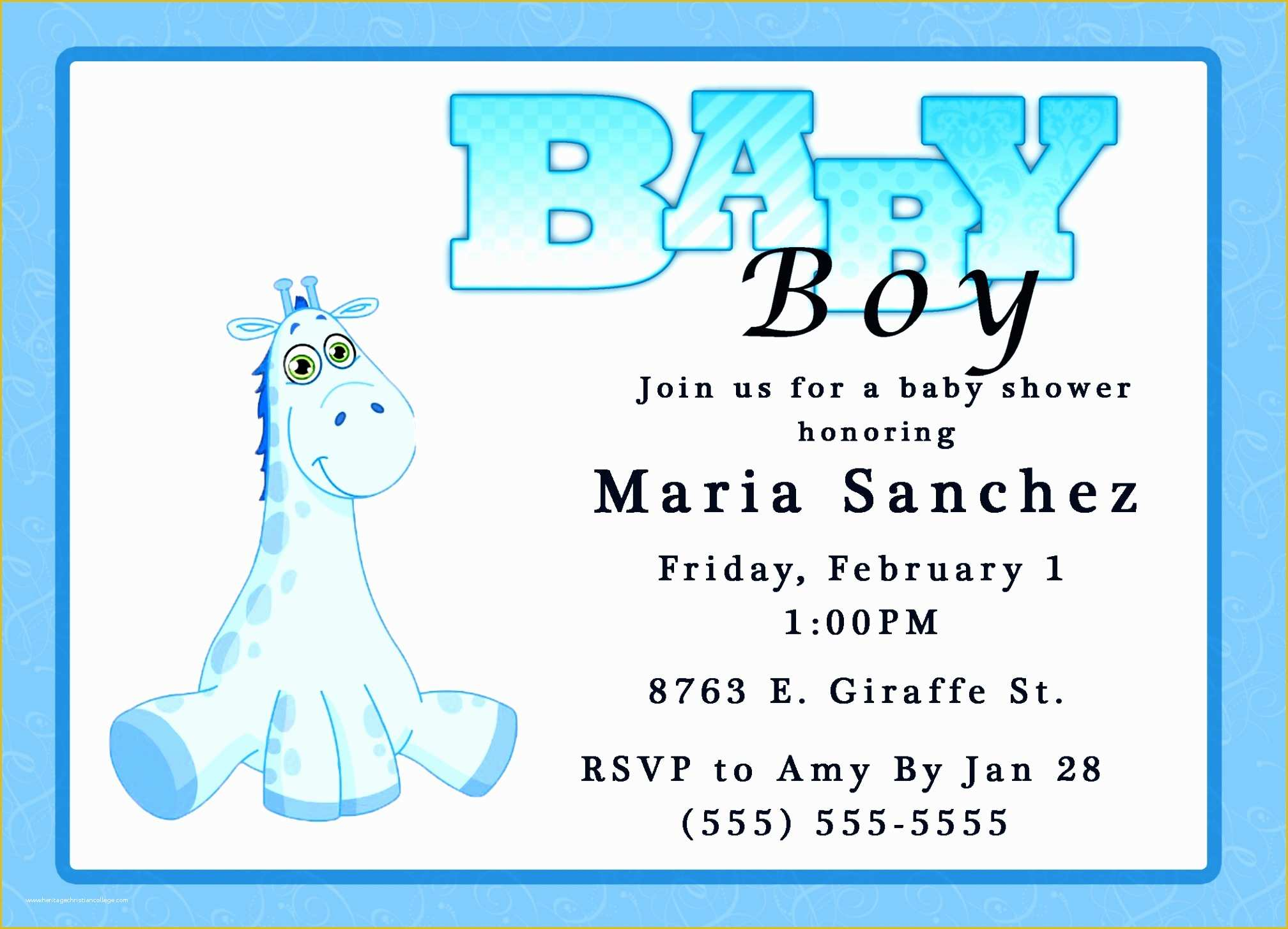 Free Baby Shower Invitations Templates Pdf Of Printable Baby Shower Invites Template Resume Builder