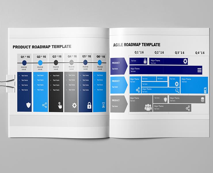 Downloadable Roadmap Powerpoint Template
