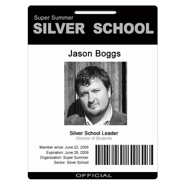 Employee Badge Template Photoshop