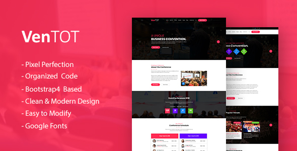 Event Ticket Html Template Free