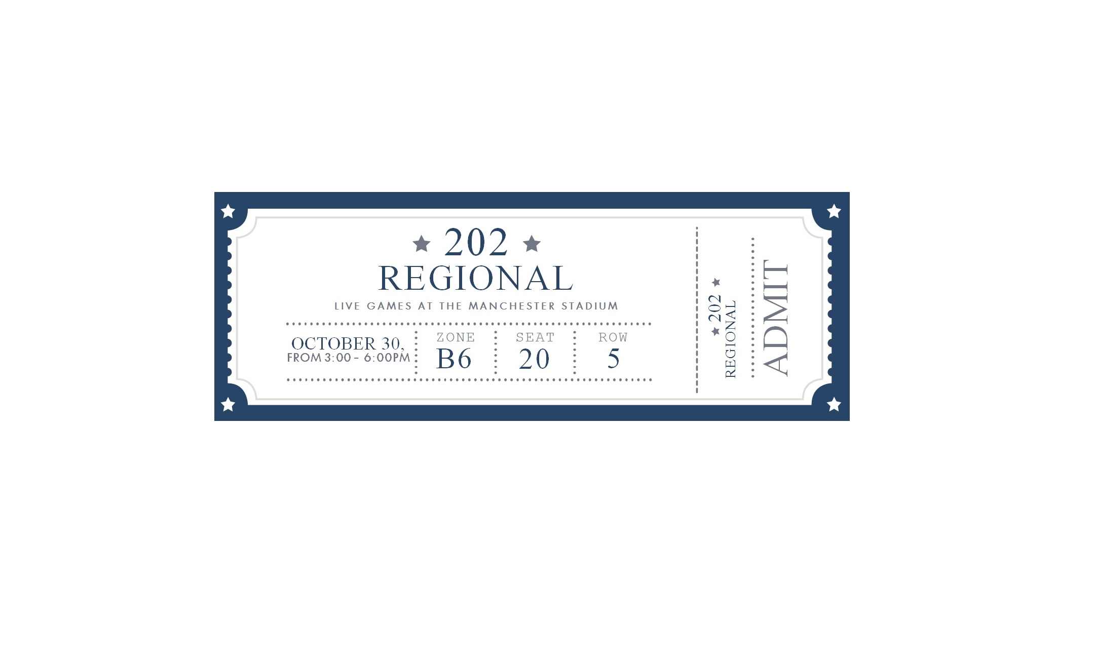 Free Event Ticket Template Word