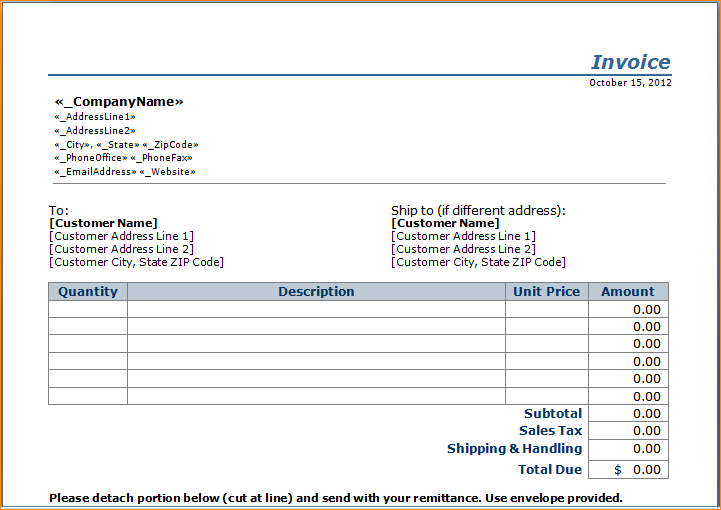 Free Independent Contractor Pay Stub Template
