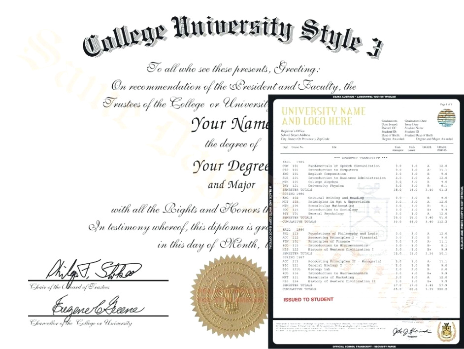Ged Diploma Template Free