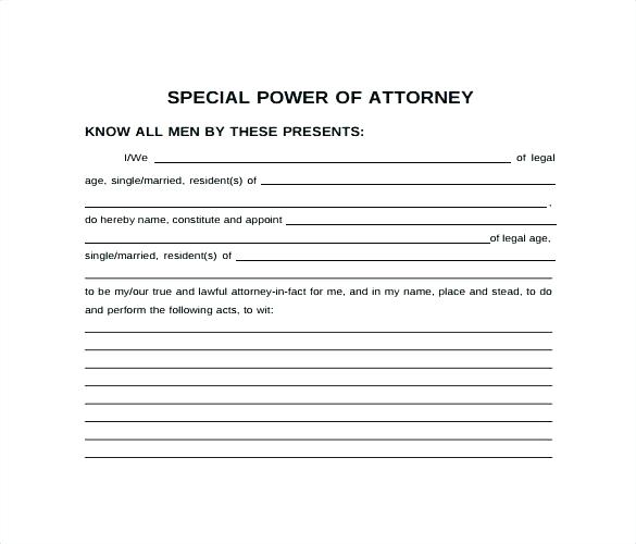 General Power Of Attorney Template Philippines