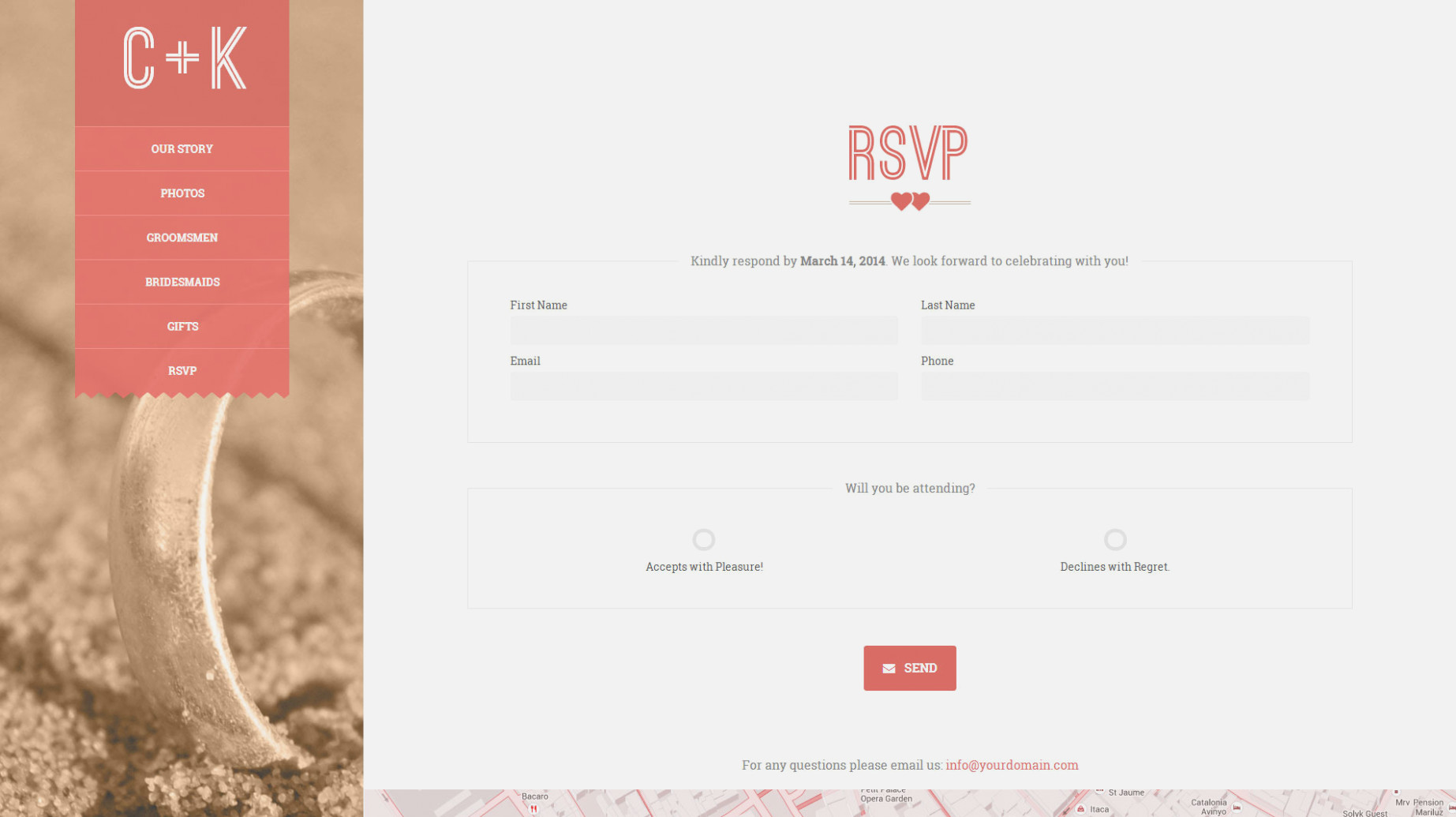 Google Form Wedding Rsvp Template