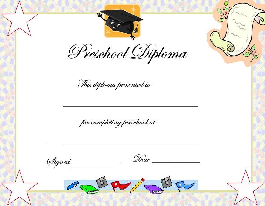 Graduation Certificate Template For Kids