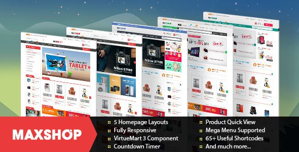 Joomla Ecommerce Templates Free Download