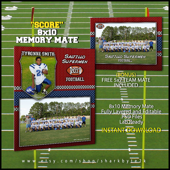 Memory Mate Templates For Photoshop