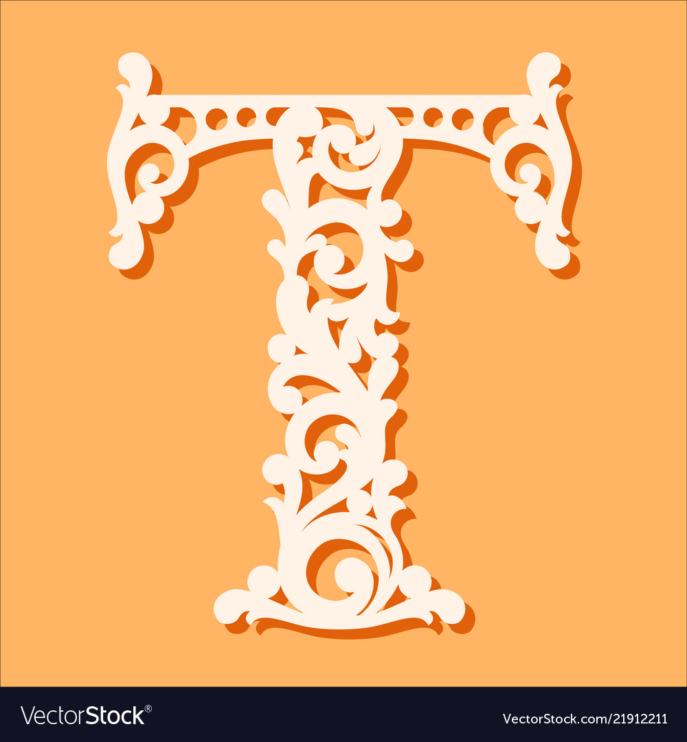 Monogram Letters Template