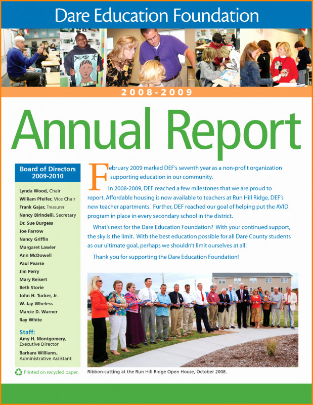 Free Annual Report Template Indesign Unique 010 Nonprofit Annual Report Template Ideas Free Non Profit Of