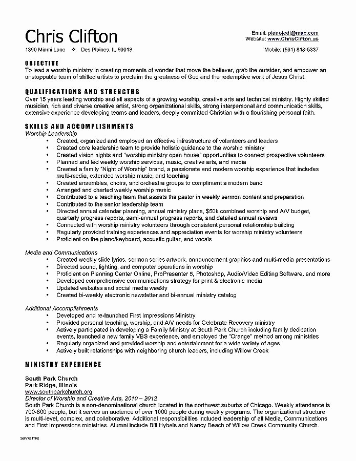 Teacher Resume Template Free Lovely Pastor Resume Template Best Pastors Resume Sample Best Ministry
