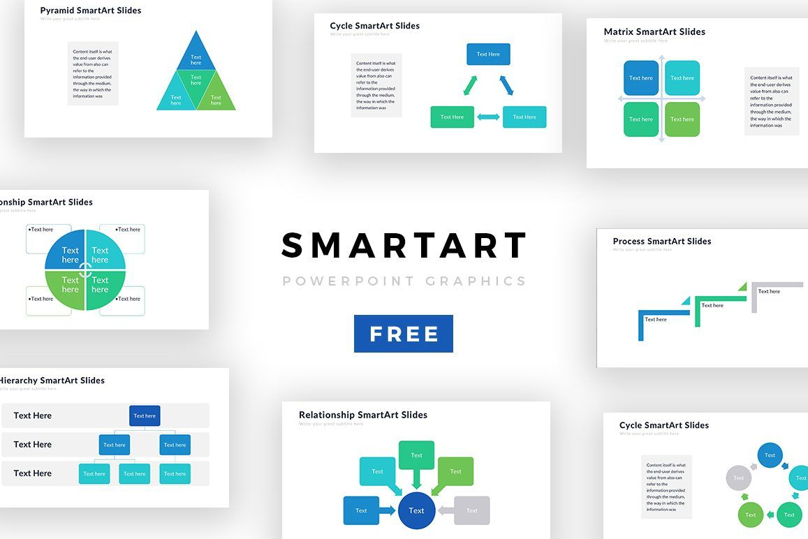 Powerpoint Smartart Templates Free