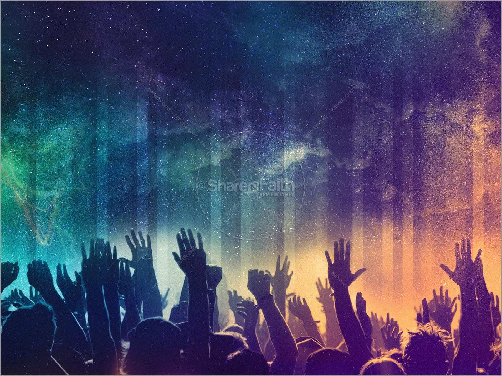 Praise And Worship Powerpoint Templates Free Admirably Be Lifted High Church Powerpoint