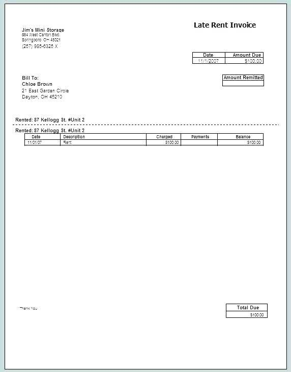 Rent Receipt Template Uk