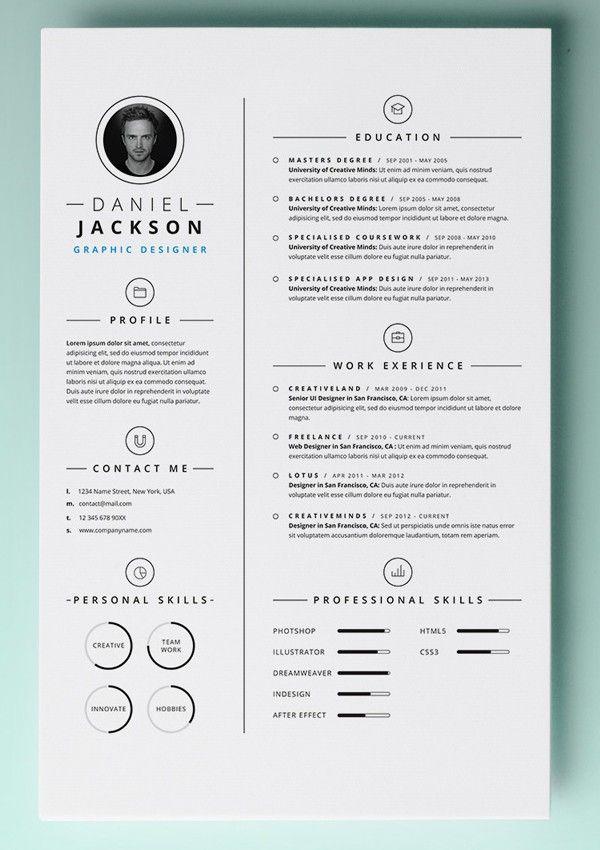 Resume Template Mac Free