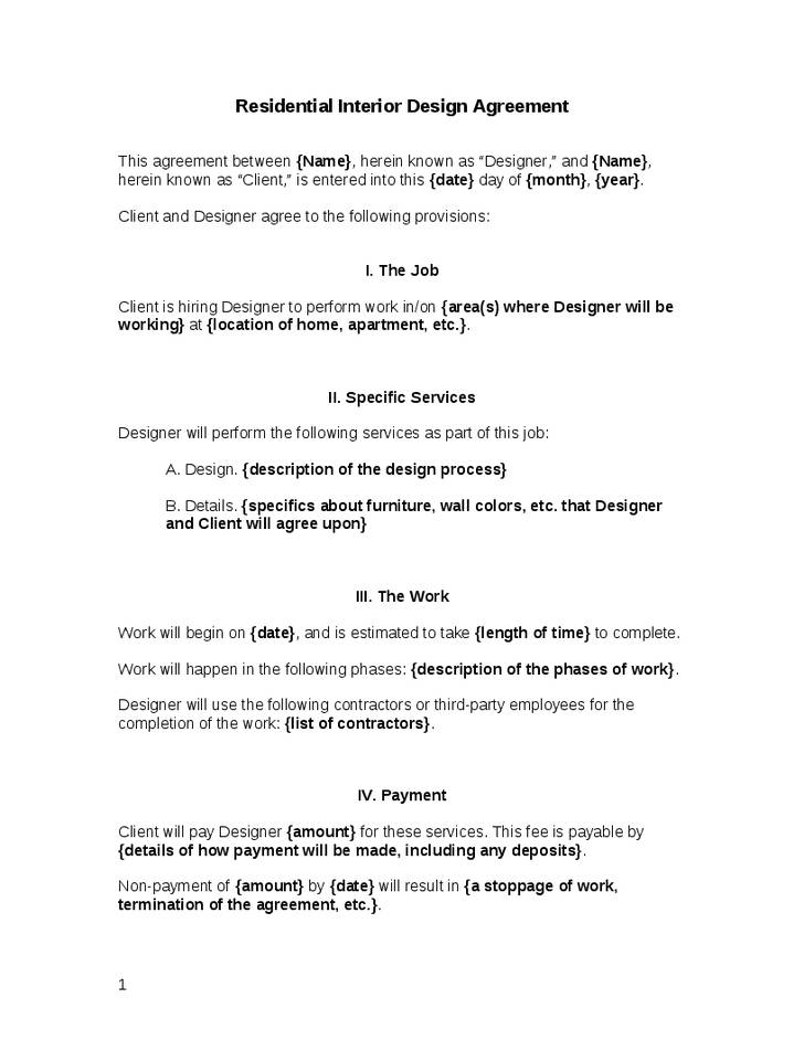 Retainer Agreement Template Word