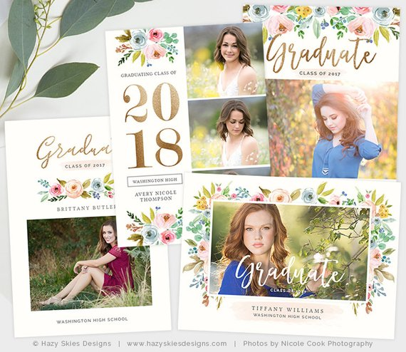 Senior Announcement Templates
