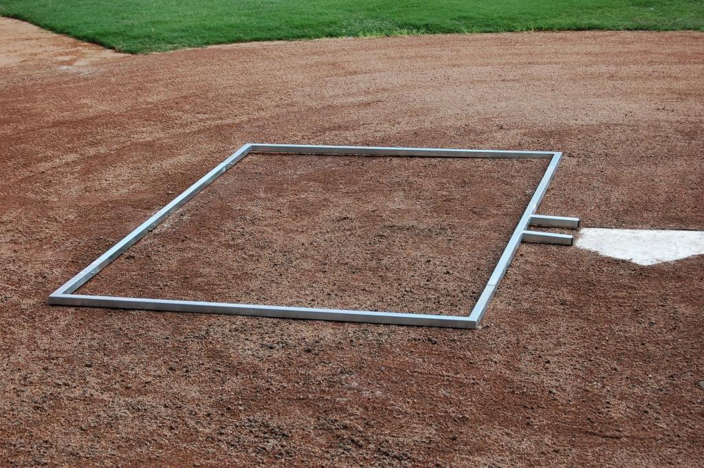 Softball Batters Box Template