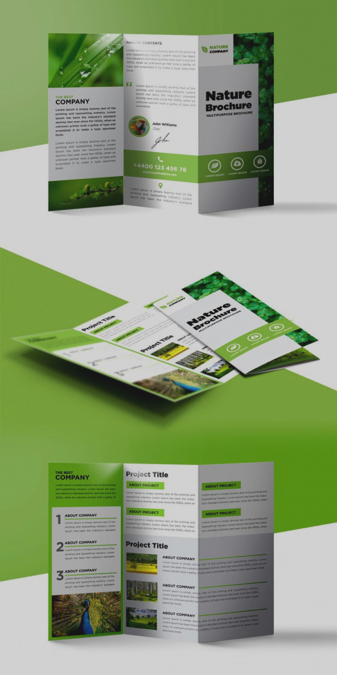 Vistaprint Brochure Template Photoshop