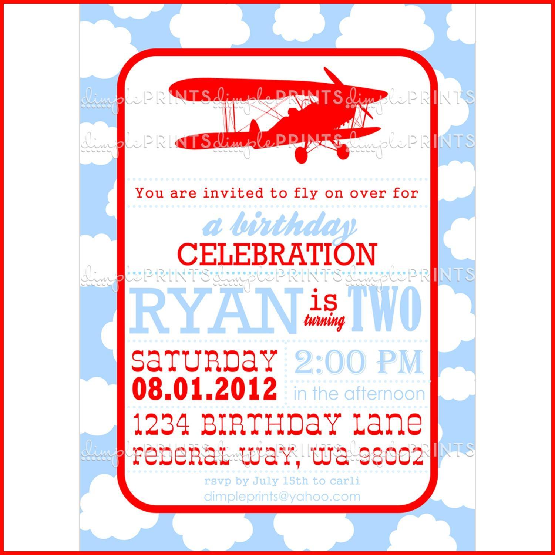 Airplane Invitation Template 114446 Colors Printable Airplane Boarding Pass Birthday Invitations